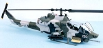 470 Size Bell AH-1W SuperScale(TM) Cobra (Camo) Kit Version