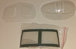 WINDOW SET FOR 450 SIZE UH-1N (MILITARY)