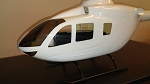 450 SIZE EC-135 WITH TINTED WINDOW  (WHITE GEL COAT)