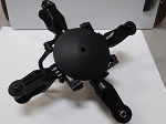 4 blade Rotor Head 600 size (PLASTIC GRIPS)
