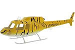 AS350 Fiberglass Scale Body, Tiger