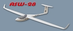 ASW-28 Scale slope glider