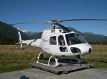 AS350 White Gelcoat Fiberglass Helicopter Fuselage (450-Size)