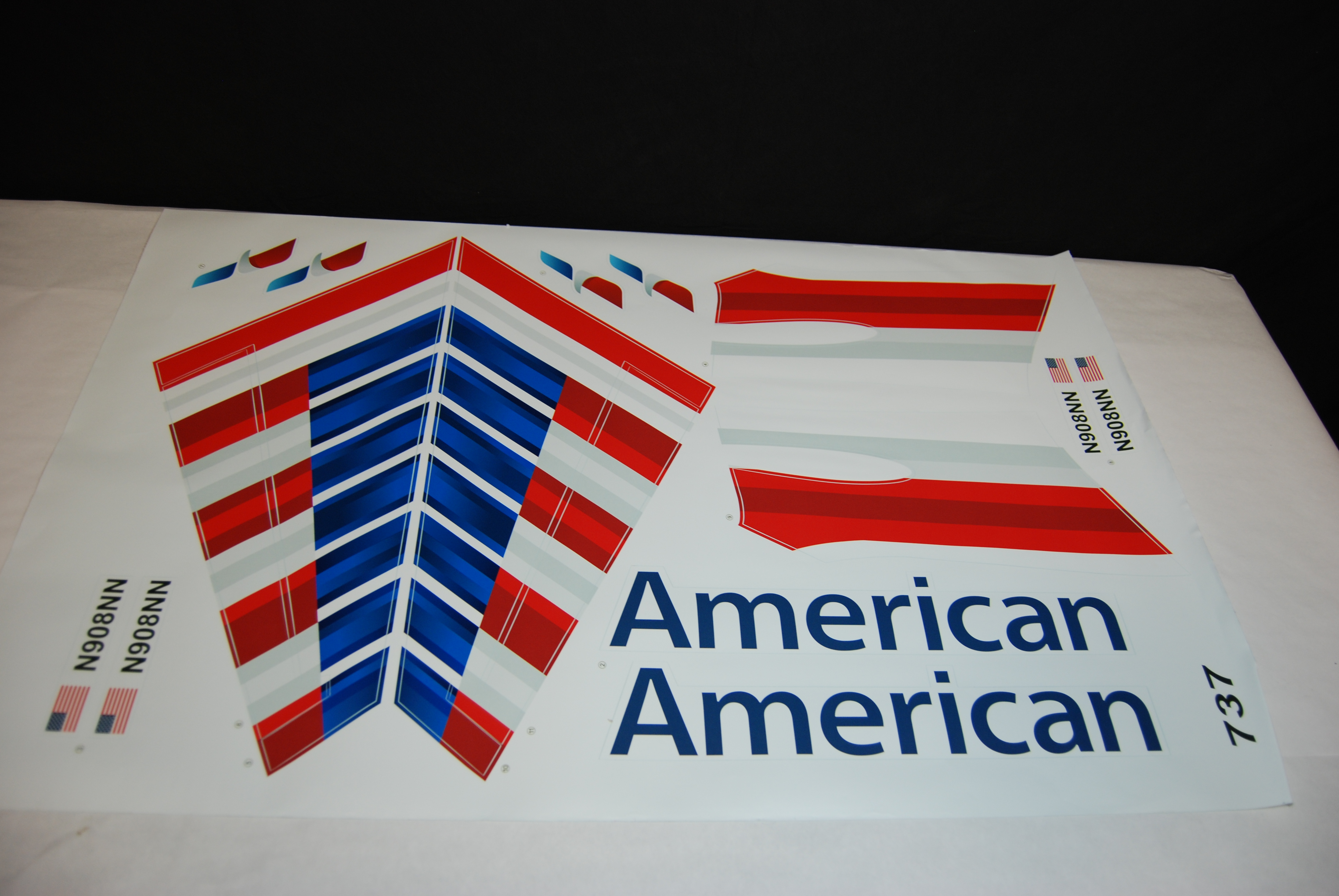 American Airlines Decal 737 700