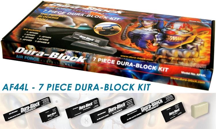 7 Piece Dura Block Kit Af4400 Af4401 Af4402 Af4403