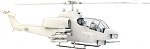 700 Size Bell AH-1W SuperScale(TM) Cobra (White)