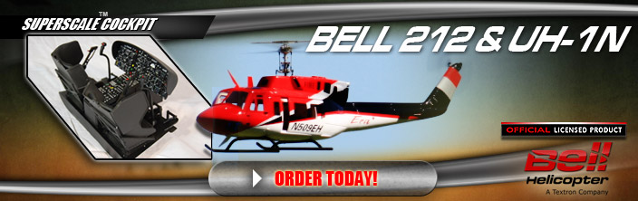 Bell 212 & U1N Scale Fuselages Now Available