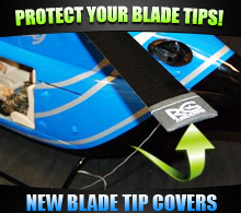 NEW! Blade Tip Covers from RC Aerodyne!