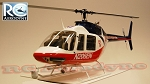 Bell 206 Jet Ranger - News Chopper (700-Size) Licensed Bell Helicopter Product