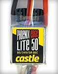 Castle Creations Edge 32V 50A LITE ESC W/ Programmable 5A BEC