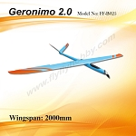 Geronimo 2.0 Electric Kit +Prop & Spinner