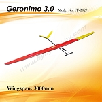Geronimo 3.0 Electric Kit +Prop & Spinner