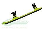 SAB Carbon Fiber Landing Gear Yellow Edition - Goblin 500