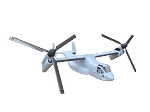 V-22 Osprey ARF 7 channel outdoor TILT ROTOR VTOL: Full scale version with complete mechanics