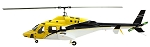800 Size SuperScale(TM) Bell 222 (Yellow and Black)