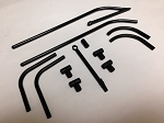 470 SIZE AS350 LANDING SKID SET