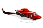 Bell 412 red white black / ERA