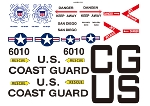 DECAL SET UH-60 JH