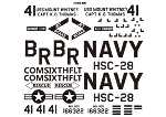 DECAL SET UH-60 SH