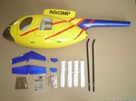 MD500E Fiberglass Scale Body, Yellow (500-Size)