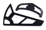 450 Size Carbon Horizontal/Vertical Tail Fin