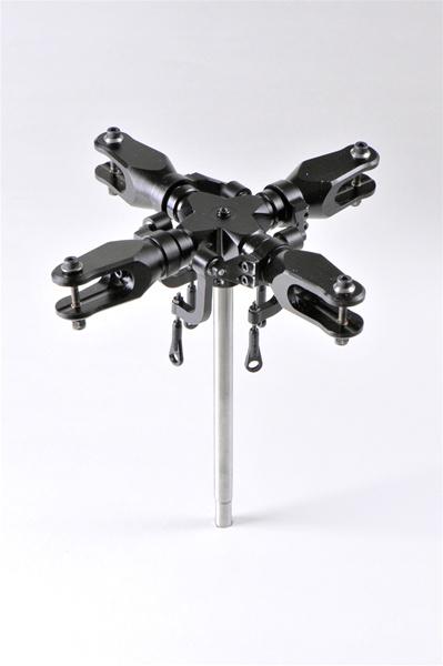 Plug N Play Cnc Aluminum Quad Blade Rotor Head 500 Size