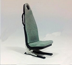 Scale seat 1/6 205mm*83mm*123mm (Blue)