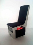 #1 Seat with Side Pocket (Magazines not included) 1 piece set