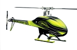 SAB Flybarless Electric Helicopter Yellow/Black kit - Goblin 500