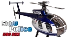 MD500D Police Blue 500 Size