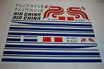 Air China Decal 737-700