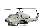 700 Size Bell AH-1W SuperScale(TM) Cobra (Grey)