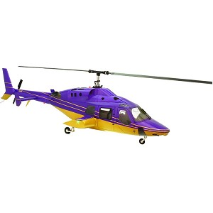 800 Size SuperScale(TM) Bell 222 (Purple and Gold)
