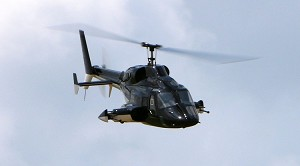 "800 Size SuperScale(TM) Airwolf  ""GLOSS BLACK PAINT"""