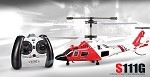 3.5ch Syma S111G Mini US Coast Guard RC Helicopter with Gyro