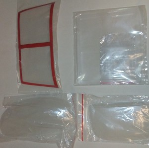 WINDOW SER FOR 500 SIZE UH1N (RESCUE)