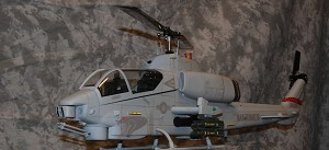 470 Size Bell AH-1W SuperScale(TM) Cobra (Grey) Kit Version
