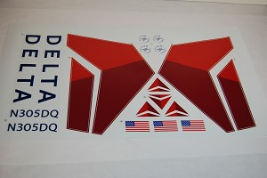 Delta Airlines Decal 737-700