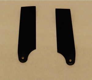 Set of 2 Tail Blades for the AH-1 700 Size