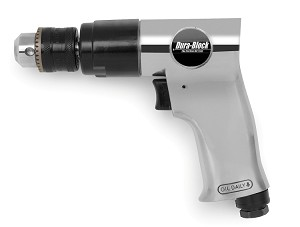 "Dura-Block AF1002B 3/8"" Planetary Air Drill (2200 RPM, Non-Reversing)"