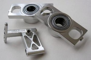 THRUSTED METAL BEARING BLOCK SET FOR 700E
