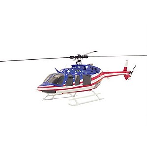 Bell 407 Stars & Stripes Scale Helicopter Kit