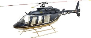 700 Size Super Scale Bell 407 (Black & Tan)