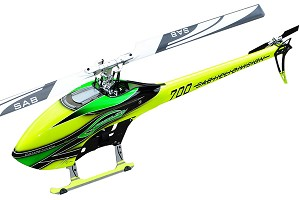 SAB Goblin 700 Competition Edition Green Kit