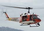 UH-1N Rescue Helicopter Scale Fiberglass Fuselage (600-Size) Licensed Bell Helicopter Product