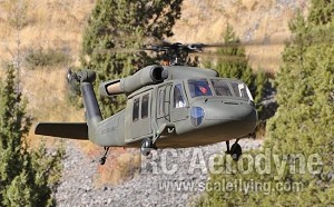 UH-60 Black Hawk Version 3 Torque Tube Version (600-Size)