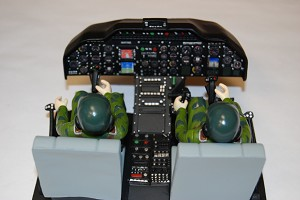 NEW ITEM: Airwolf Cockpit with Pilots (600 Size)