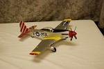 P-51d Mustang - Silvery PNP