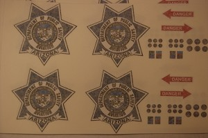Airzona Air Rescue Decal set for 600 size