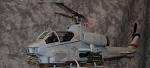 470 Size AH-1W SuperScale(TM) Cobra (Grey) Includes DJI NAZA